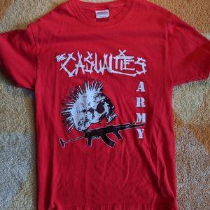 Vintage 2004 Casualties Tour Shirt